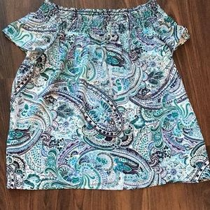 SOUTH MOON UNDER ABBELINE TOP size medium